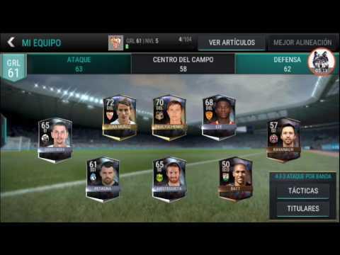 Fifa mobile:fichamos jugador + truco para ganar dinero rápido!!