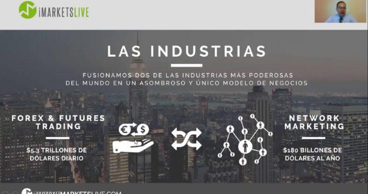 FOREX | iMarketsLive Oportunidad de Negocio | Ganar Dinero Online | Multinivel| NetworkMarketing |