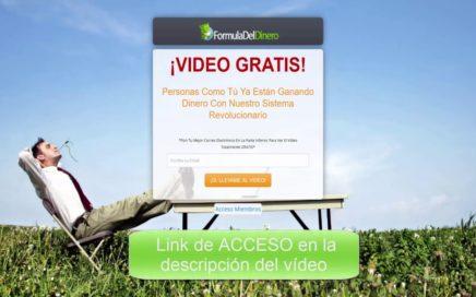 FORMULA DEL DINERO - Gana Dinero Online   Plataforma 100% Automática
