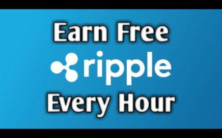FREE XRP - (Actualización  y Cobro) Gana Hasta 1579 Ripples gratis cada 60 minutos