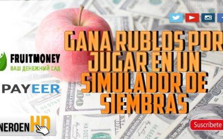 FRUITMONEY PAGA | GANA RUBLOS GRATIS POR JUGAR EN UN SIMULADOR DE SIEMBRAS - HERMANA DE MOTORMONEY
