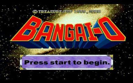 GAMEPLAY BANGAI-0 (TREASURE) @ SEGA DREAMCAST