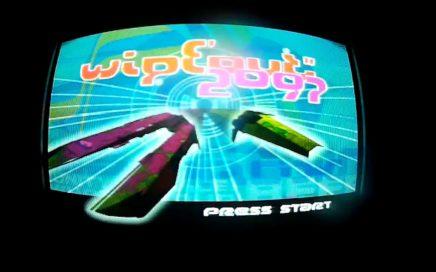 GAMEPLAY WIPEOUT 2097 ARCADE   TALON'S REACH @ SONY PSOne + TV CRT + RGB