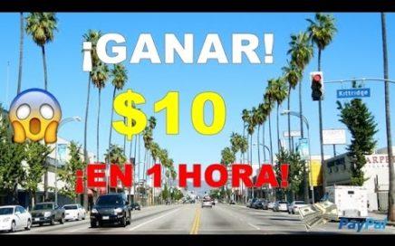 GANA $10 DOLARES EN 1 HORA  | MUY Facil De HACER  | Por Paypal 2017