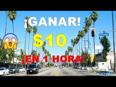 GANA $10 DOLARES EN 1 HORA    MUY Facil De HACER    Por Paypal 2017