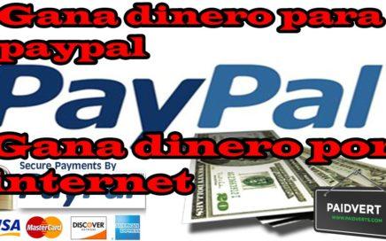 Gana 7 dolares en 5 minutos | Como Ganar Dinero Para Paypal