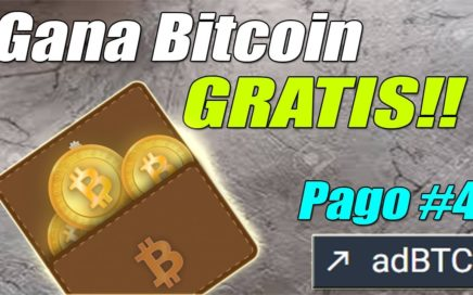 Gana Bitcoin Gratis con adBTC (Nuevo Pago), Aprovecha BTC = 8600$ | Gokustian