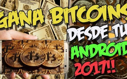 GANA BITCOINS CADA  HORA DESDE TU CELULAR 2017 | Estrategia FREEBITCOIN