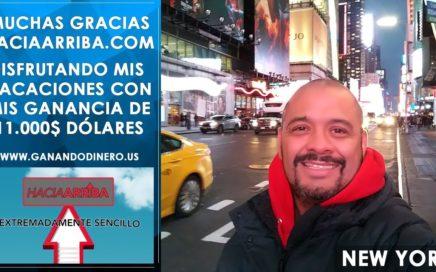 Gana de 500$ a 1000$ en un día con Hacia Arriba.com
