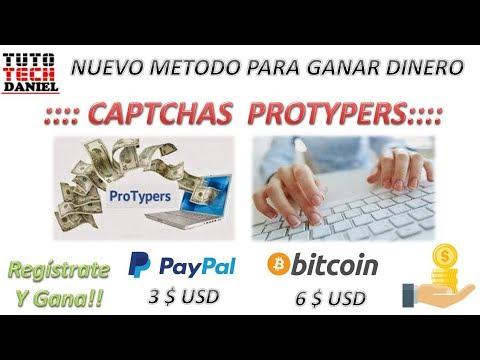GANA DINERO CON CAPTCHAS  I  NUEVO METODO  I  DESDE 3 USD PAYPAL  I  6 USD BITCOIN