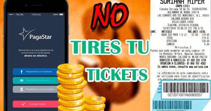 GANA DINERO con esta App | Escaneando tus tickets | PagaStar | 2017