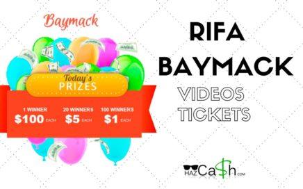 Gana dinero con la rifa de Baymack