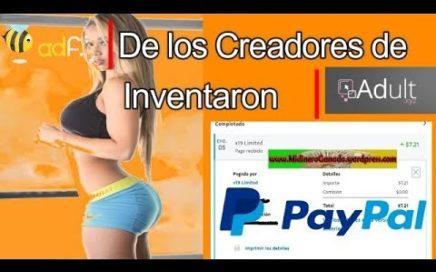 GANA DINERO CON PAGINAS PARA ADULTOS (+18) | PAGO $5 POR PAYPAL