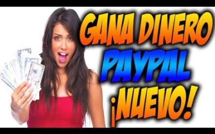 GANA DINERO CON PAYPAL| Dinero rapido con paypal| Gana dinero sin invertir| dinero facil y rapido