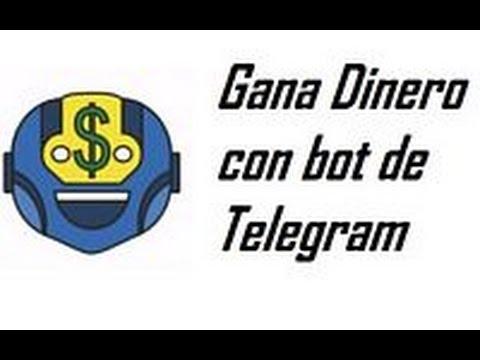 Gana dinero con Telegram 2017 (Pagando, para retirar hay que invertir)