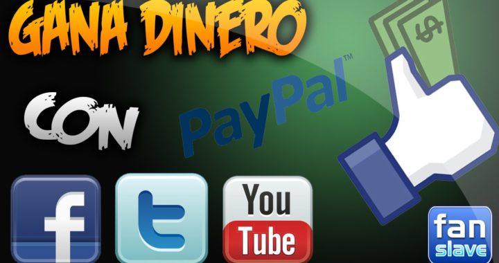 Gana Dinero Dando Me Gustas, Viendo Videos, Compartiendo, Etc. | PayPal | 2016