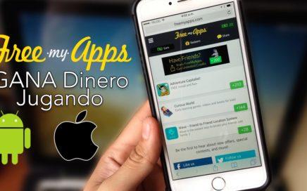Gana Dinero Descargando Aplicaciones con FreemyApps Android & iOS  Android & iOS