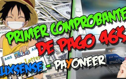 GANA DINERO DESDE TU CASA   Primer comprobante de pago Clixsense - Payoneer 2018