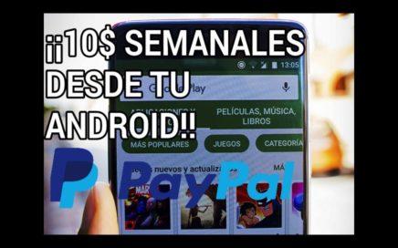 ¡¡¡GANA DINERO FÁCIL CON TU ANDROID DESDE CASA!!!