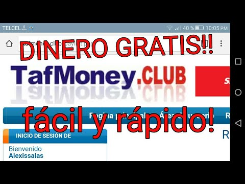 GANA DINERO FACIL Y RAPIDO CON ESTA PAGINAN! | GANAR DINERO FACIL!| Tafmoney.club tutorial