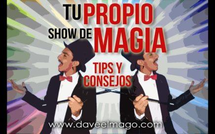 GANA DINERO HACIENDO MAGIA | Tips y Consejos para Iniciar tu Show de Magia