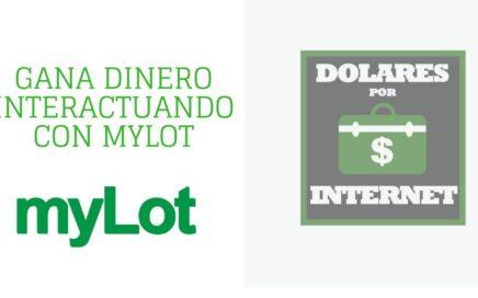 Gana dinero interactuando como en facebook con Mylot