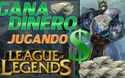 GANA DINERO JUGANDO LEAGUE OF LEGENDS [MINI TUTORIAL HD]
