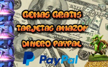 Gana Dinero para PayPal y Gemas Clash Royale Totalmente GRATIS y Rápido Con CashPirate // 2016