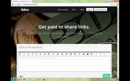 Gana Dinero por Internet con Binbox.io | Pagos por Paypal, Bitcoin | 2015