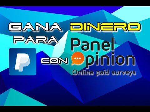 GANA DINERO POR INTERNET CON PANEL OPINION | ENCUESTAS REMUNERADAS UK 2017