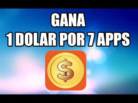 Gana dinero probando apps (7 apps = 1 dolar)