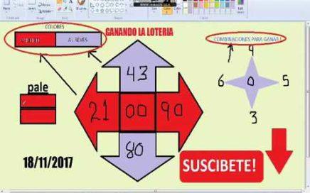Gana Dinero Rapido hoy 18/11/17 en La Loterias y Apuestas/ juega chances