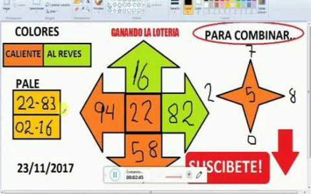 Gana Dinero Rapido hoy 23/11/17 en La Loterias y Apuestas/ juega chances