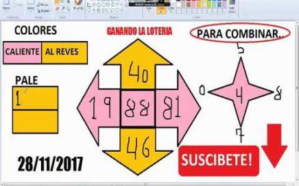 Gana Dinero Rapido hoy 28/11/17 en La Loterias y Apuestas/ juega chances