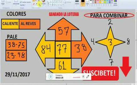 Gana Dinero Rapido hoy 29/11/17 en La Loterias y Apuestas/ juega chances