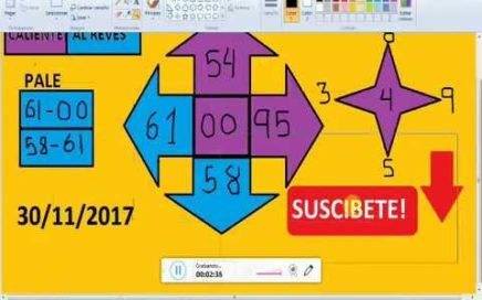 Gana Dinero Rapido hoy 30/11/17 en La Loterias y Apuestas/ juega chances