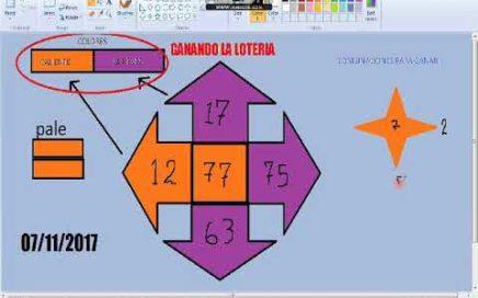 Gana dinero rapido -Numeros ganadores para hoy 07/11/17 / Como Ganar chance