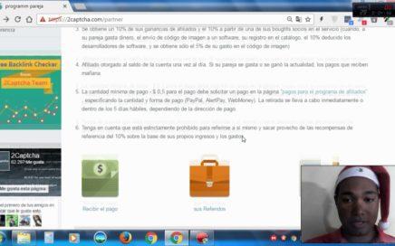 GANA DINERO REAL POR INTERNET EN VENEZUELA CON 2 CAPTCHA 2016