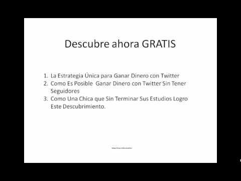 Gana Dinero Twitter | Ganar Dinero Extra