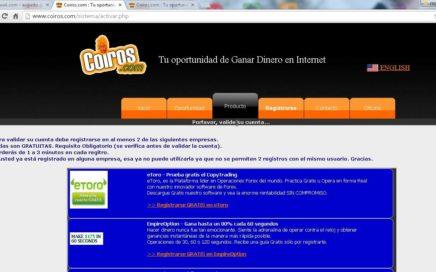 Ganar Dinero Con COIROS, 2016 Pagos por PAYPAL 100% Garantizado