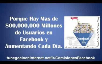 Ganar dinero con Facebook desde casa [Trabajar por Internet]