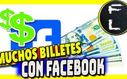 Ganar dinero con facebook desde ya 100% efectivo y fácil redes sociales ingresos tiempo libre