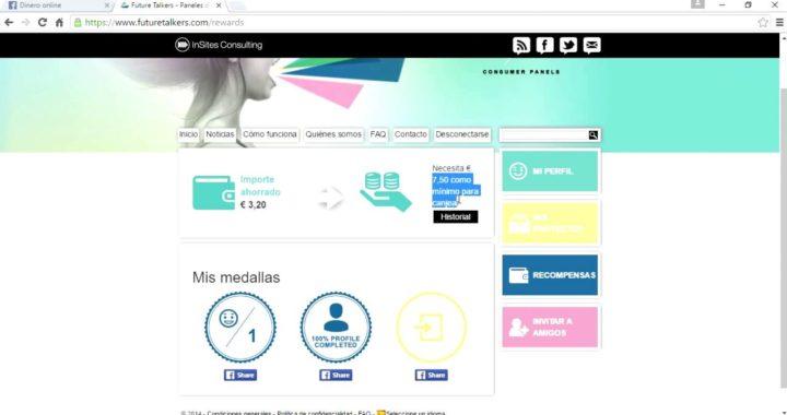 Ganar dinero con FutureTalkers - Dinero online