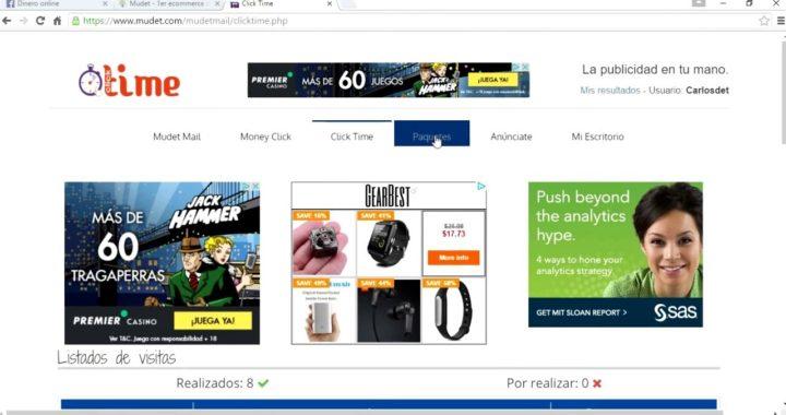 Ganar dinero con Mudet - Dinero online