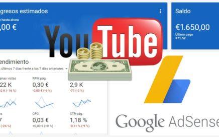 Ganar Dinero con Youtube y Adsense 2018 (Monetizando Tus Videos)