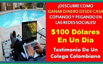 Ganar Dinero Desde Casa - Como Hizo $100 USD En Un Dia Con HaciaArriba (Easy1Up)