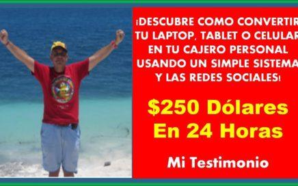 Ganar Dinero Desde Casa Es Muy Simple Con HaciaArriba (Easy1Up) | Como Hice $250 USD En 24 Horas