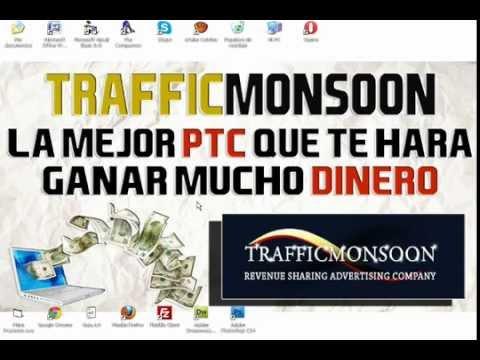Ganar dinero extra en dolares TrafficMonsoon Venezuela 2015