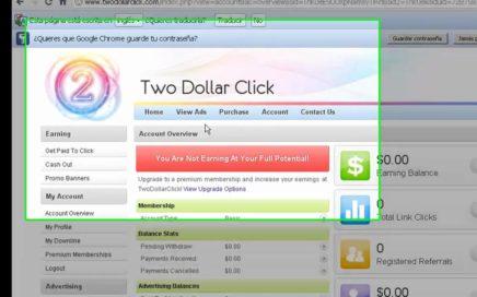 ganar dinero facil 2 dolares por click