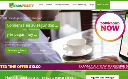 Ganar dinero fácil con Earn Money Network. Diciembre 2017